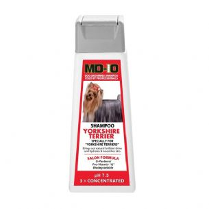 MD10 Yorkshire Terrier Shampoo 300ml (1.2 Litre Diluted) Afghan, Australian Silky Terrier, Shih Tzu
